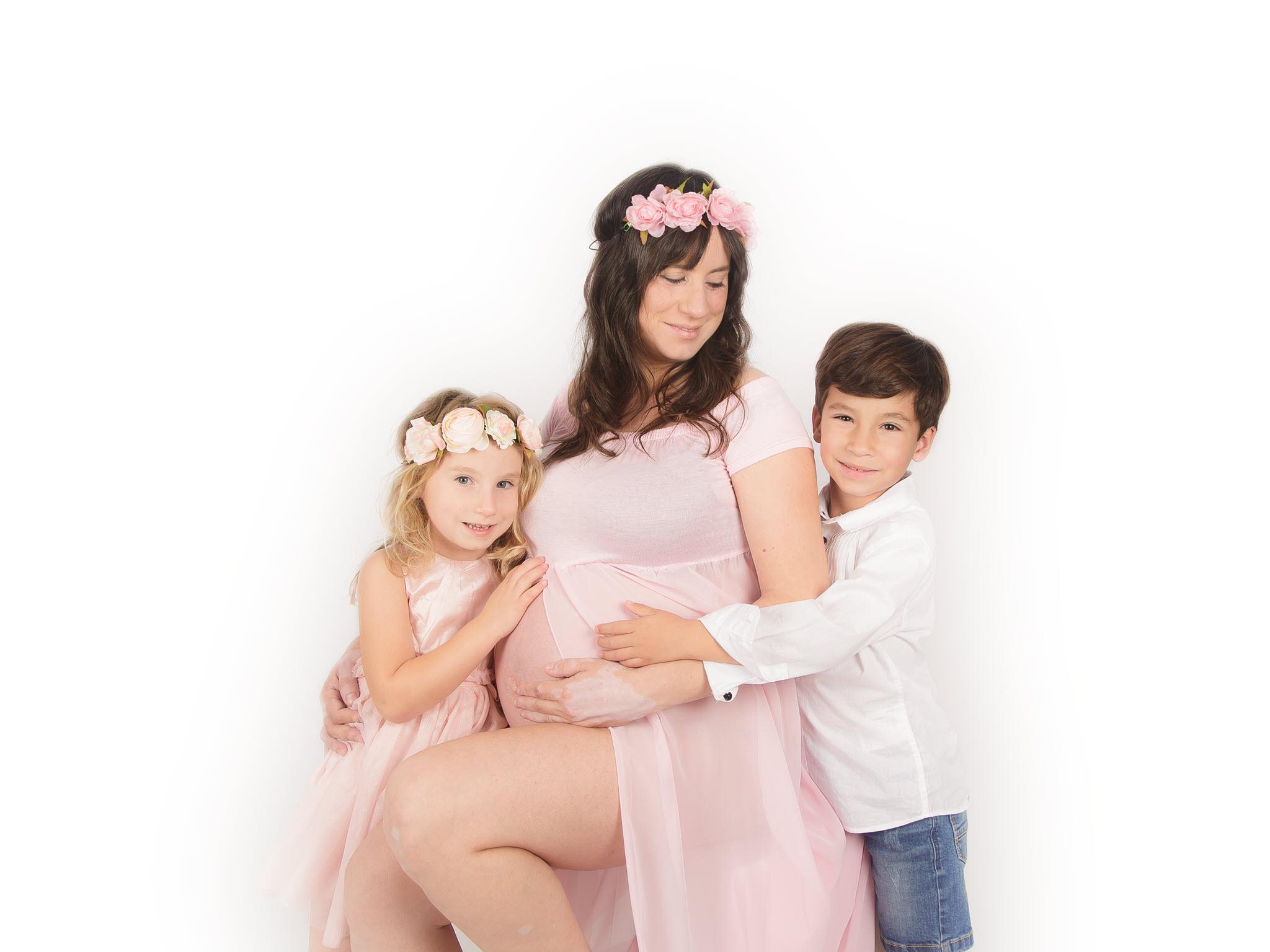 Fotografía Embarazo Embarazada Dulces Sueños Zaragoza
